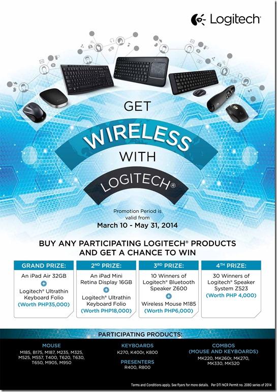 Be Wireless with Logitech Promo 03/10 to 05/31 – Gadgetshelf